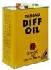 масло трансмиссионное NISSAN DIFF OIL HYPOID SUPER LSDGL-5 80W90